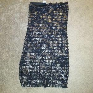 Shimmery bodycon dress